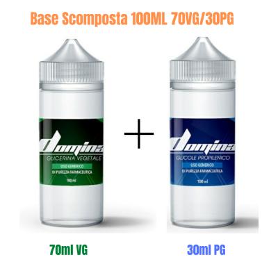 Base Scomposta 100ML 70VG30PG