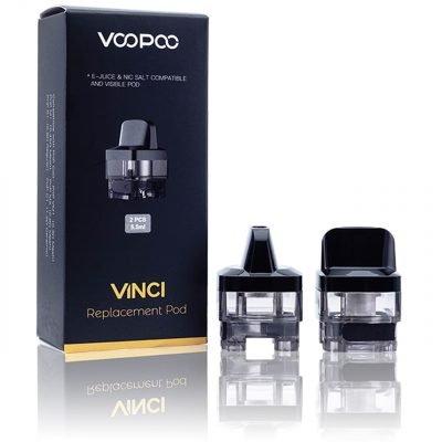 VooPoo Pod di Ricambio Vinci Pod Mod 5,5ml Confezione 2pz