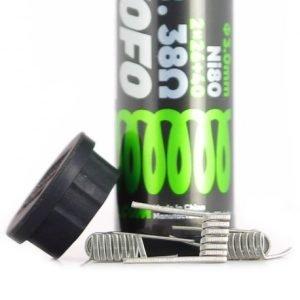 Wotofo Colis NI80 Dual Core Fused Clapton 0.38 oHm