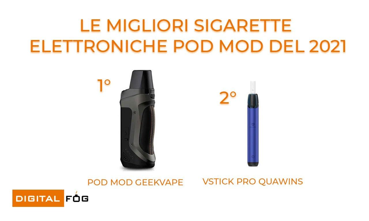 migliori sigarette pod mod